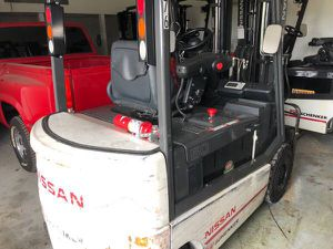 Six Nissan electric forklifts for Sale in Rockwall, TX