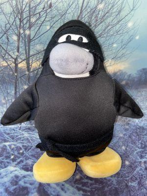 """Disney Club Penguin series Ninja Penguin 11"""" plush for Sale in Bellflower, CA"""
