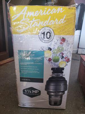 American standard garbage disposal for Sale in Lake Elsinore, CA