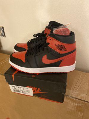 Jordan 1 Red Black Size 9.5 for Sale in Orlando, FL