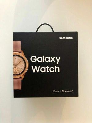 BUNDLE Samsung Galaxy Bluetooth Watch 42mm Rose Gold SM-R810NZDCXAR asking $279.99 or Best Offer Im flexible ! for Sale in Port St. Lucie, FL