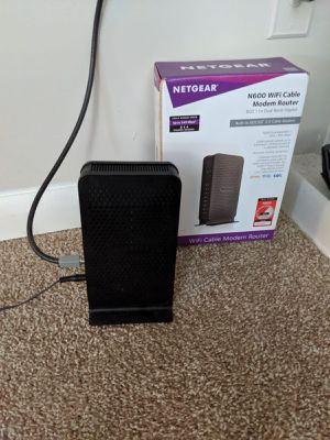 Netgear dual band router N600 for Sale in Cumming, GA