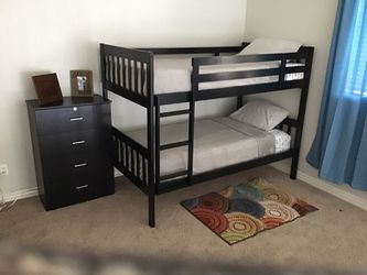 New!! dresser, twin bunk bed, set of 2, bedroom furniture for Sale in Phoenix,  AZ