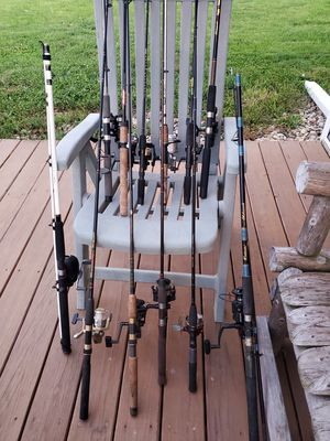 Fishing poles spinning rods for Sale in Joliet, IL