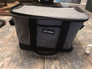 Cooler, grey and black for Sale in Oklahoma City, OK