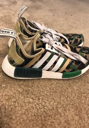 BAPE NMD SIZE 5 AUTHENTIC for Sale in Murrieta, CA