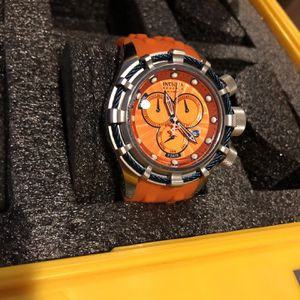 Invicta Orange Face Band Watch for Sale in Las Vegas, NV