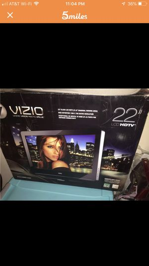 "22"" Visio TV with remote! Barely used! for Sale in Los Angeles, CA"