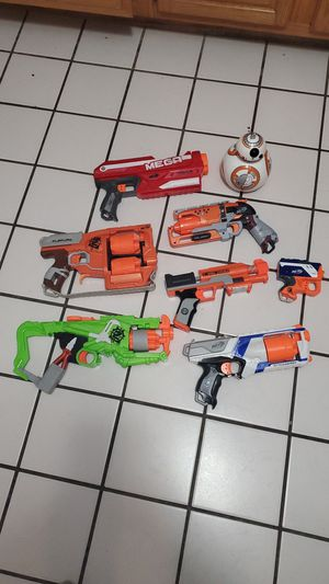 Nerf guns 20 0BO for Sale in Joliet, IL