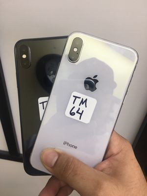 iPhone X 64GB Available For All Carriers for Sale in Garland, TX