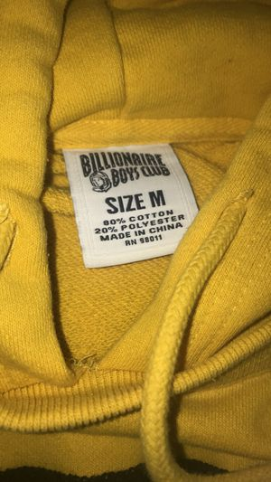 Yellow BBC hoodie for Sale in Patchogue, NY