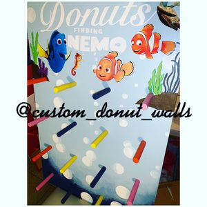 Finding Nemo Donut Wall for Sale in Long Beach, CA