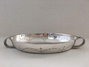 Silver plate dish for Sale in Corona, CA