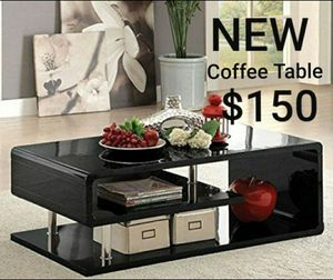 Coffee Table In Black Finish for Sale in Montebello, CA