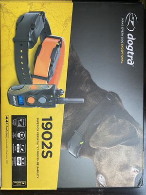Dog tea training collar system (2 dog system) for Sale in Riverside, CA
