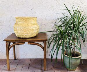 Woven boho basket for Sale in Scottsdale, AZ