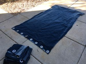 6 8foot by 4foot Clean Curtains. for Sale in Mesa, AZ