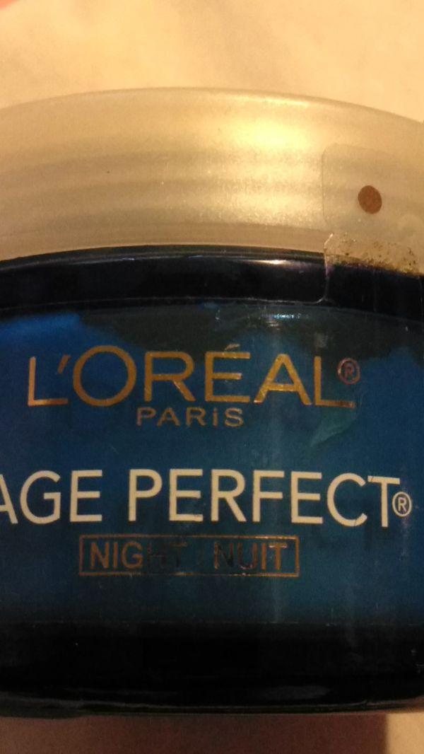 L'Oreal Age prefect night cream
