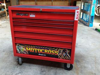 Snap-on Motocross Edition Toolbox Great Condition for Sale in Portland,  OR