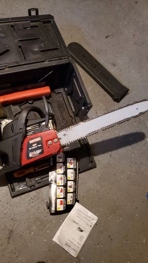 Craftsman Gas Chainsaw 42cc 2 -cycle for Sale in Minneapolis, MN