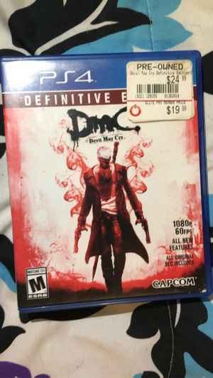 Devil May Cry PS4 for Sale in Piney River, VA
