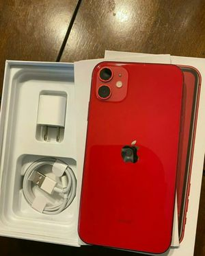 Apple iPhone 11 red unlocked 128GB. for Sale in Middleburg, VA