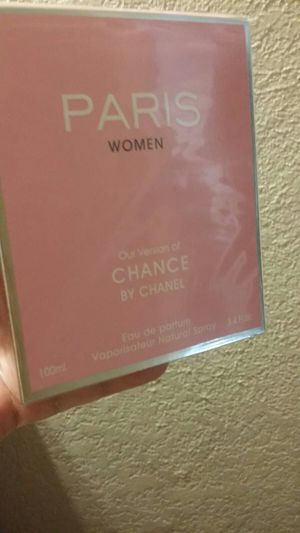 Perfume chance by chanel 3.4oz for Sale in Austin, TX