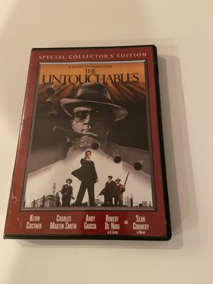 The Untouchables- DVD for Sale in Euless, TX