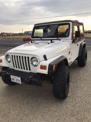 2001 Jeep Wrangler for Sale in Lodi, CA
