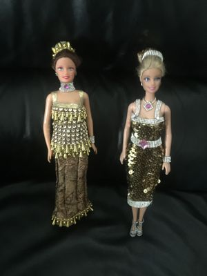 Barbie dolls with custom made clothes one of a kind $20 each for Sale in Crowley, TX