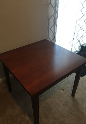 Expandable kitchen table plus two matching chairs for Sale in Rockville, MD
