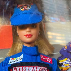 NASCAR 50th Anniversary Barbie Collector Edition 1998 Mattel for Sale in Chula Vista, CA