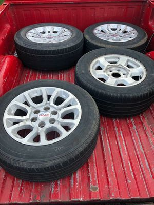 GMC stocks / Rims & tires for Sale in Houston, TX