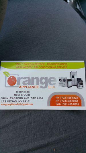Orange Appliances llc service and sale for Sale in North Las Vegas, NV
