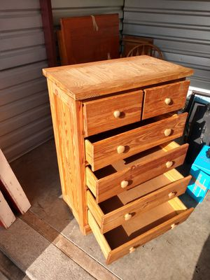Wood dresser for Sale in Tacoma, WA