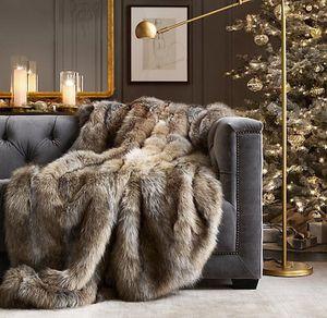 Brand new H&M faux fur throw for Sale in Montebello, CA