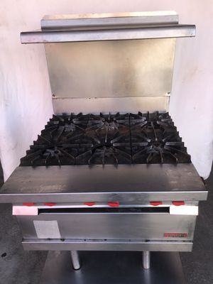Vulcan 6 Burner gas stoves for Sale in Baltimore, MD