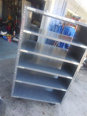 Mobile shelving cart for Sale in Lakeland, FL