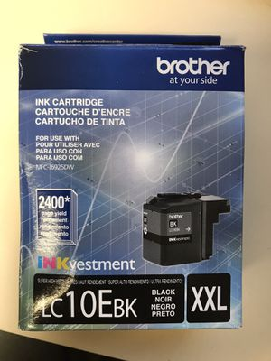 Brother LC10E BK XXL Ink Cartridge for Sale in Lanham, MD
