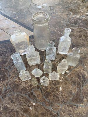 Lot of antique bottles for Sale in Orange, CA