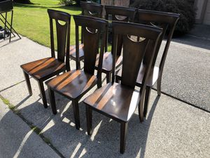 Solid Dining Chairs for Sale in Edmonds, WA