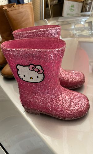 Kids hello kitty rain boots for Sale in Portland, OR