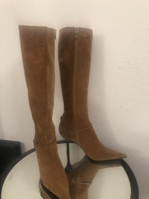 Boots seude size 10 nine west for Sale in San Diego, CA