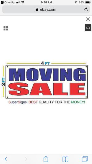 Moving last day come and see for Sale in Tacoma, WA