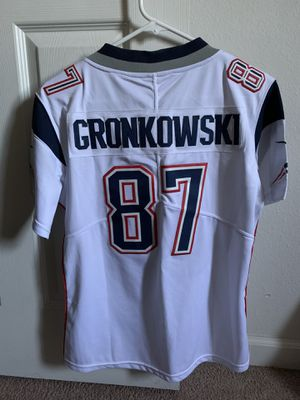 New England Patriots Gronk Jersey YOUTH XL for Sale in San Diego, CA