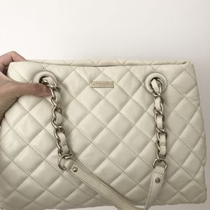 Authentic White Kate Spade Handbag for Sale in Brooklyn, NY