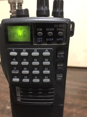 Alinco hand held scanner works good comes with charger for Sale in San Dimas, CA