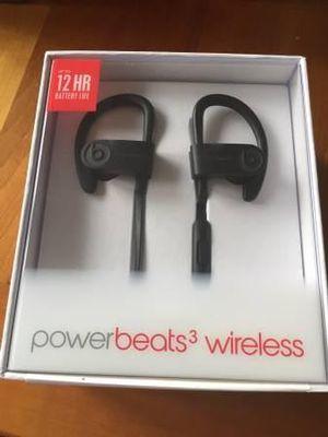 Powerbeats wireless 3 headphones for Sale in Allen Park, MI