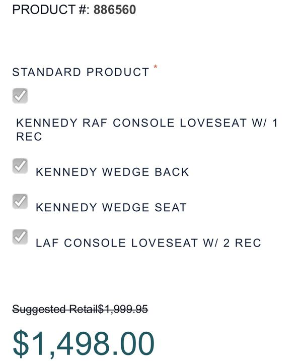 Kennedy 4pc Sectional