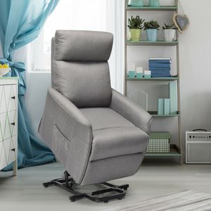 Electric Power Fabric Padded Lift Massage Chair Recliner Sofa for Sale in Los Angeles, CA